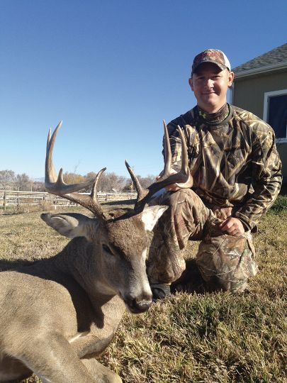 Andrew Coleman's homework and hard work allowed him to double down on a pair of fine Wyoming whitetail bucks.
